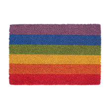 Load image into Gallery viewer, Rainbow Flag Doormat Miscellaneous ALLPOP