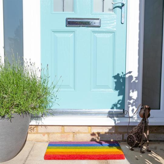 Rainbow Flag Doormat Miscellaneous ALLPOP