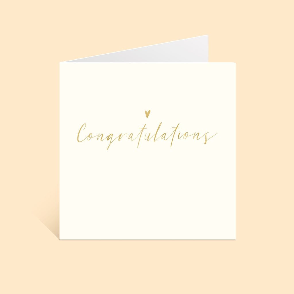 Simple Congratulations Greetings Card Greetings Card ALLPOP