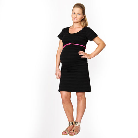 Maternity Or Pregnancy T-Shirt Dress - mumsbuddy.com
