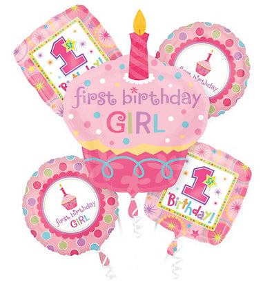 1st Birthday Balloons Bouquet For Your Little Princess Mumsbuddy
