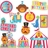 1st or First Birthday Colourful Decoration Cutouts, Fisher Price - mumsbuddy.com