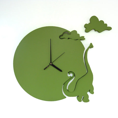 Dinosaur Wall Clock For Kids Room Decor - mumsbuddy.com