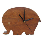 Elephant Small Clock For Kids Room Wall Or Study Table - mumsbuddy.com
