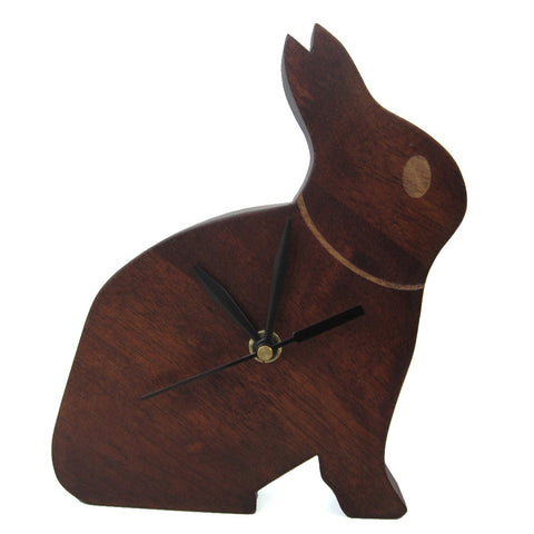 Rabbit Small Clock For Kids Room Wall Or Study Table - mumsbuddy.com
