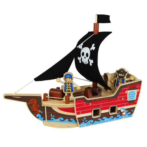 Pirate Boat, Qpack Toy Set - mumsbuddy.com