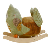 Owliver Green Owl Rocker