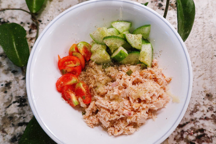 Tuna Quinoa Bowl for the Busy