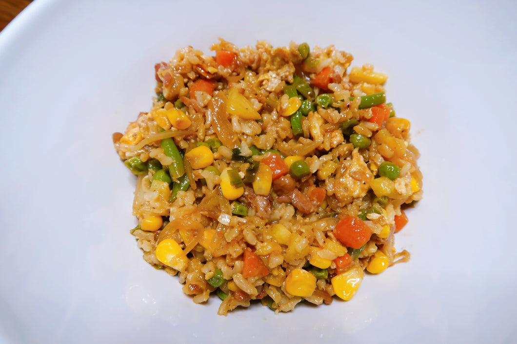 (V) Vegan Coconut Pineapple Fried Rice