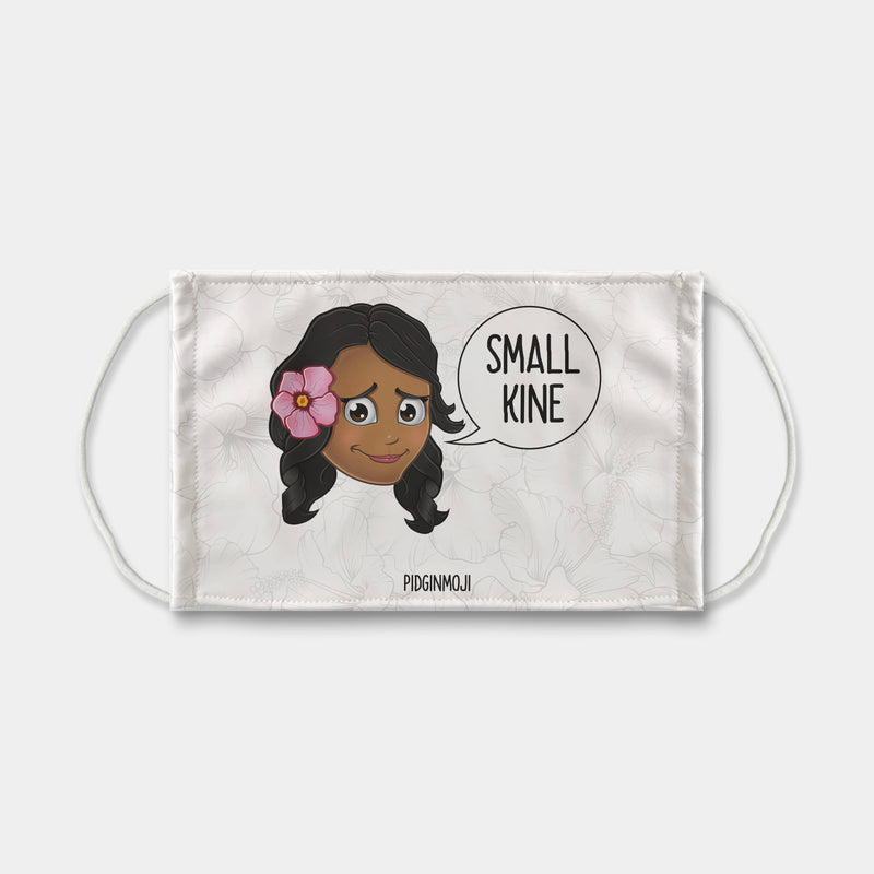 """SMALL KINE"" Women's Original PIDGINMOJI Characters Face Mask"