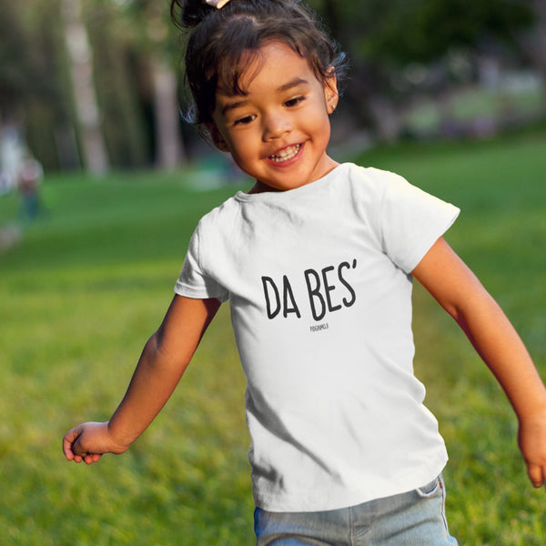 """DA BES'"" Youth Pidginmoji Light Short Sleeve T-shirt"