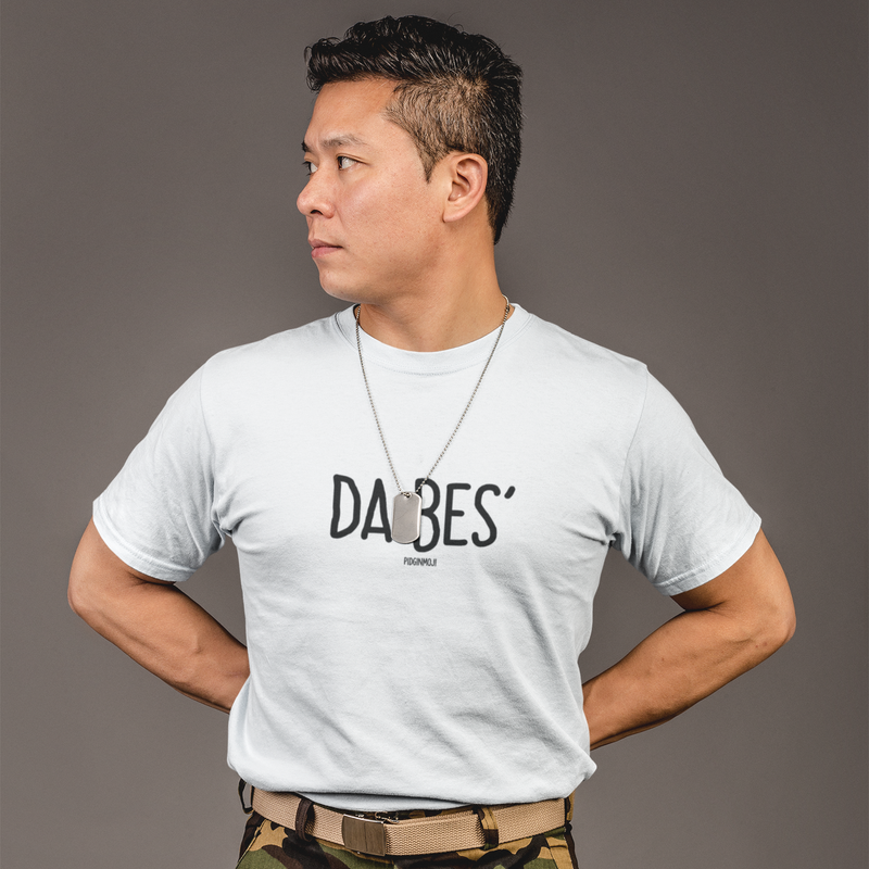 """DA BES'"" Men's Pidginmoji Light Short Sleeve T-shirt"
