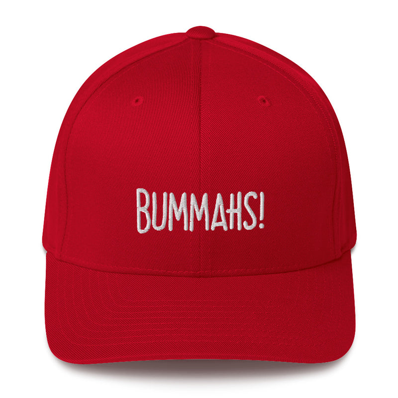 """BUMMAHS!"" Pidginmoji Dark Structured Cap"