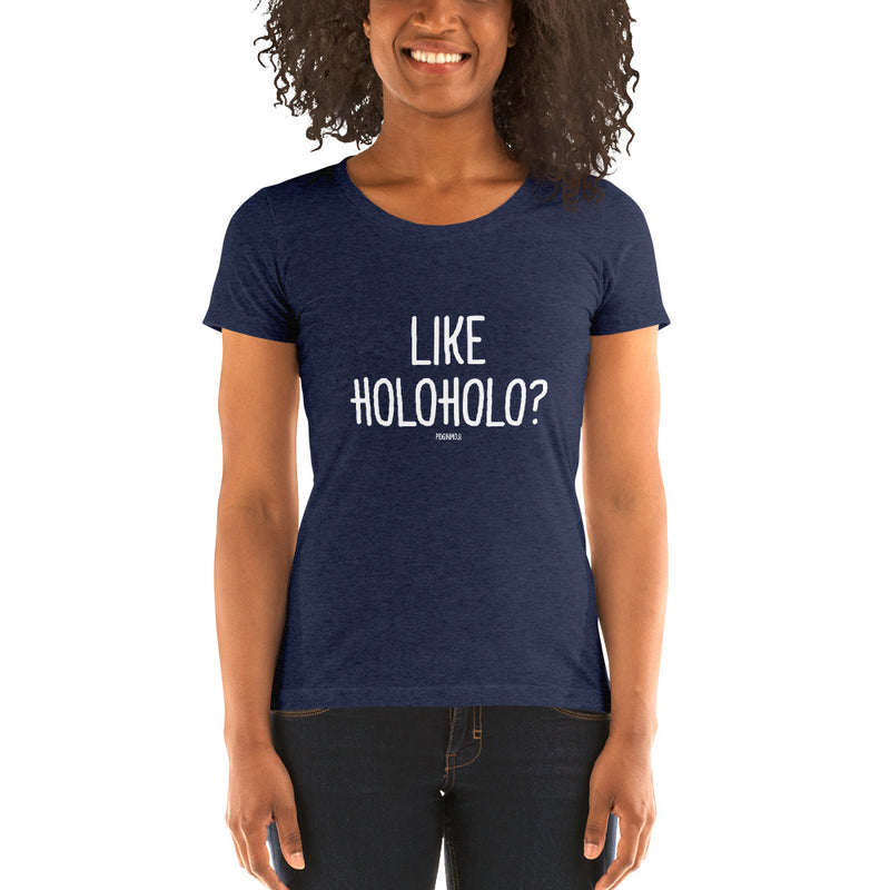 """LIKE HOLOHOLO?"" Youth Pidginmoji Dark Short Sleeve T-shirt"