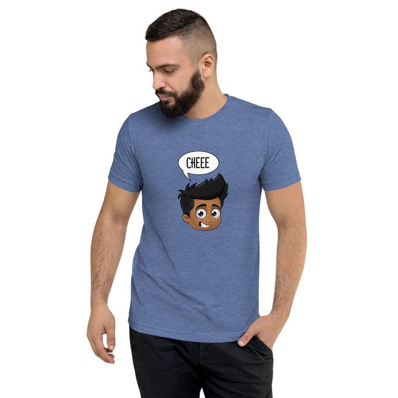 """CHEEE"" MEN'S ORIGINAL PIDGINMOJI CHARACTERS SHORT SLEEVE T-SHIRT"