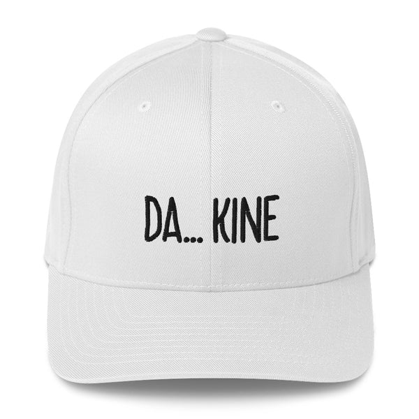 """DA... KINE"" Pidginmoji Light Structured Cap"