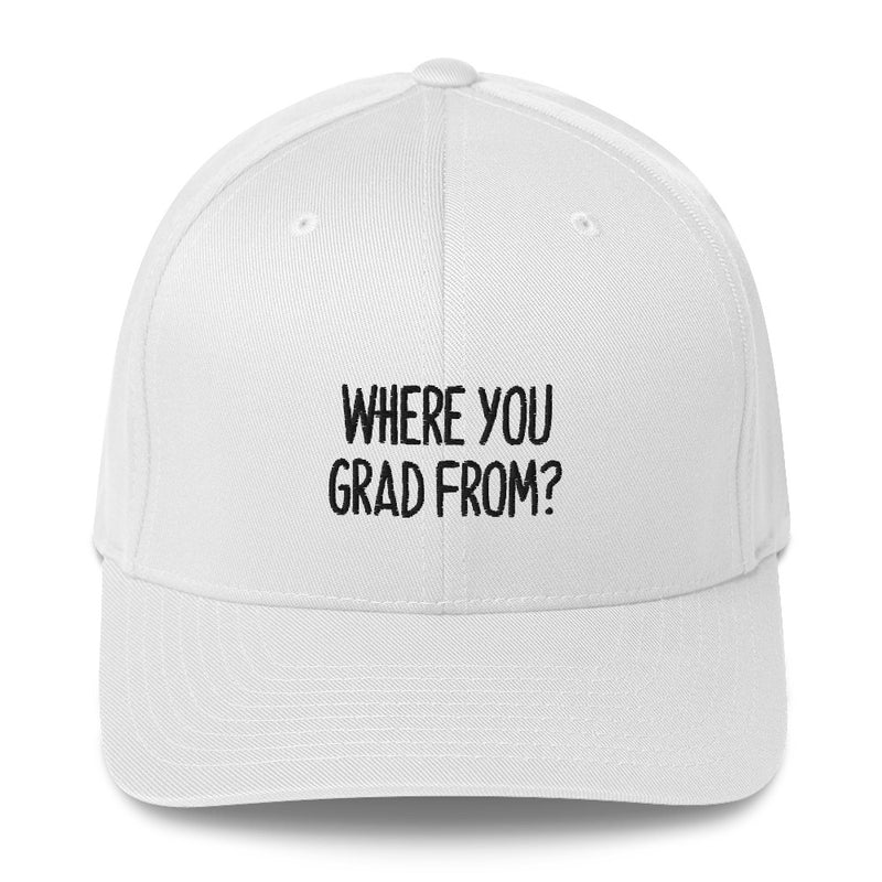 """WHERE YOU GARD FROM?"" Pidginmoji Light Structured Cap"
