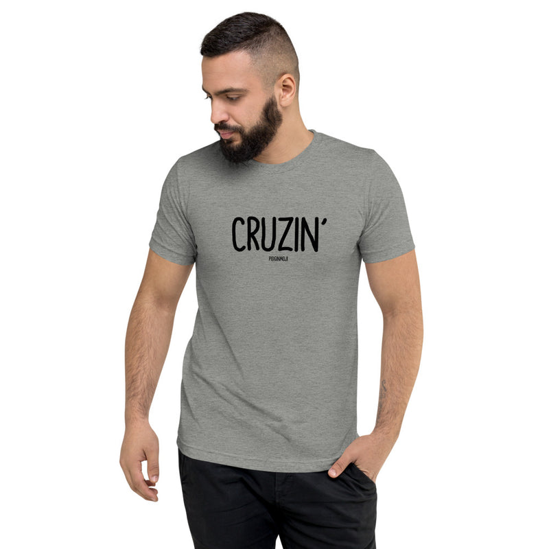 """CRUZIN'"" Men's Pidginmoji Light Short Sleeve T-shirt"