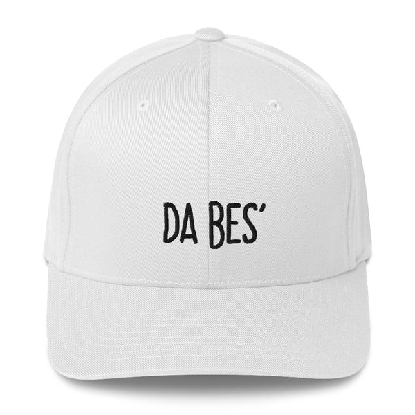 """DA BES'"" Pidginmoji Light Structured Cap"