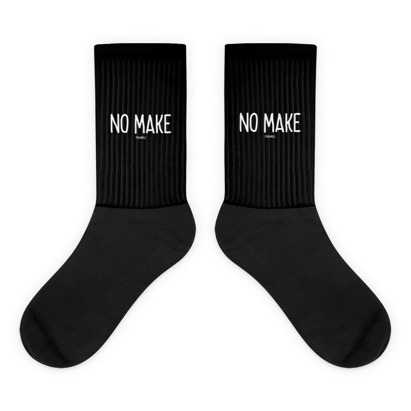 """NO MAKE"" PIDGINMOJI Socks"