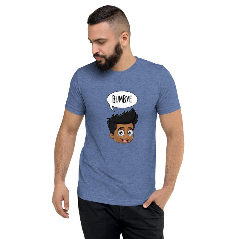 """BUMBYE"" MEN'S ORIGINAL PIDGINMOJI CHARACTERS SHORT SLEEVE T-SHIRT"