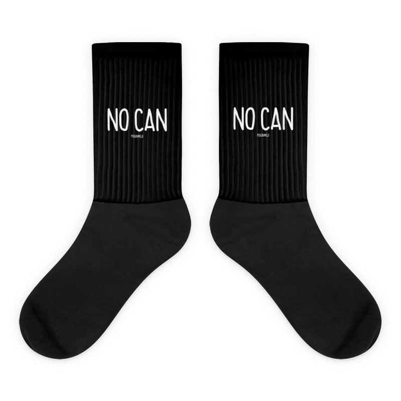 """NO CAN"" PIDGINMOJI Socks"