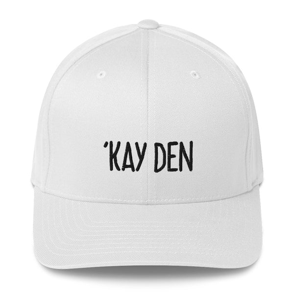 """'KAY DEN"" Pidginmoji Light Structured Cap"