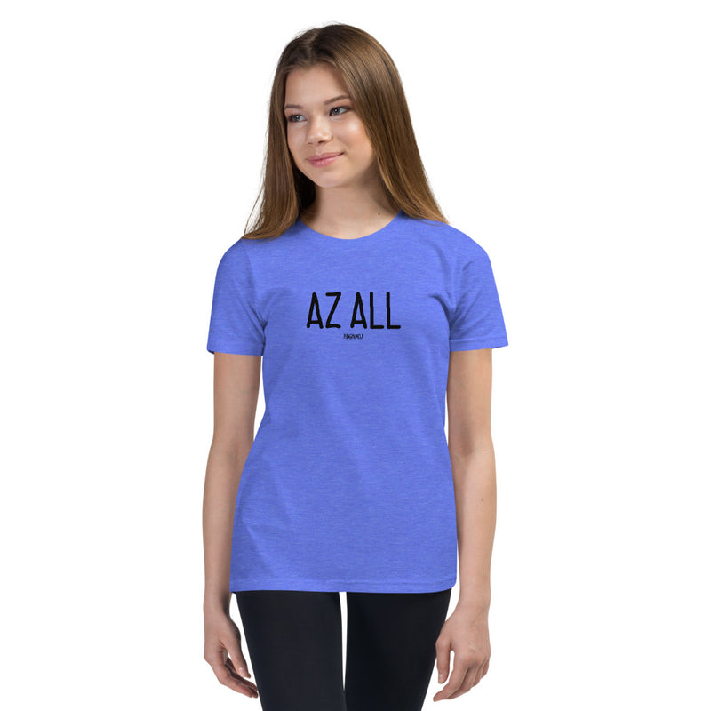 """AZ ALL"" Youth Pidginmoji Light Short Sleeve T-shirt"