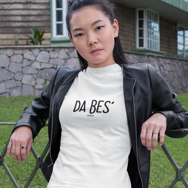 """DA BES'"" Women's Pidginmoji Light Short Sleeve T-shirt"