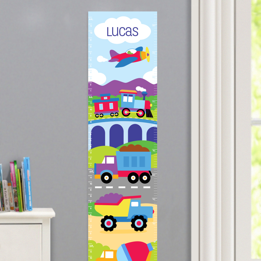 Personalized Decal Growth Charts