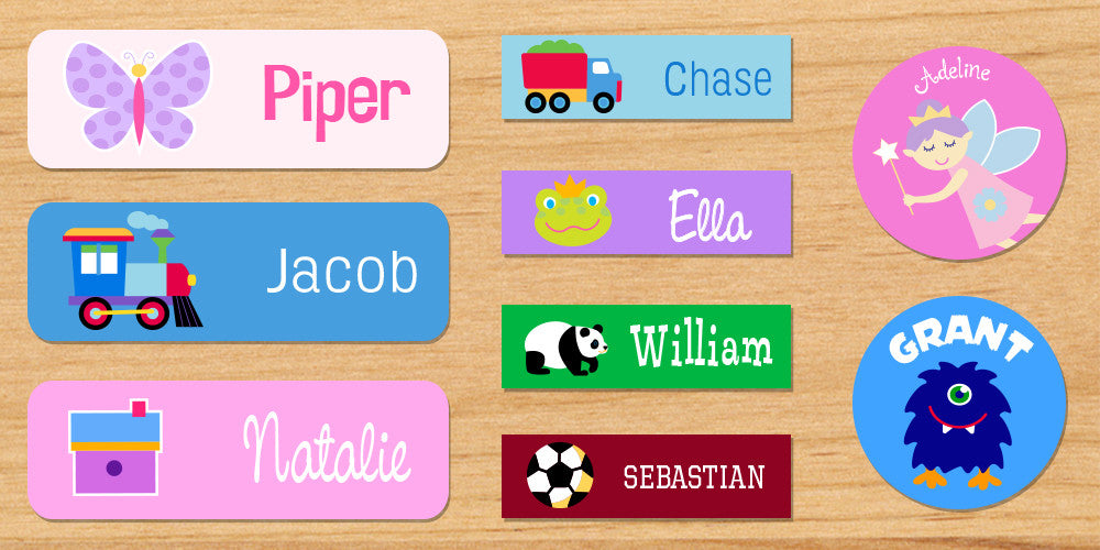 Get Organized with Personalized Labels