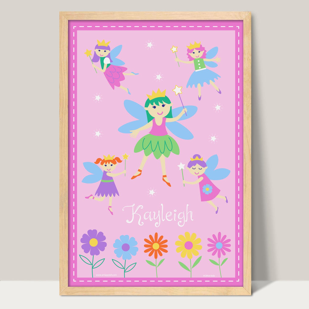 Fairies Kids Print Personalized