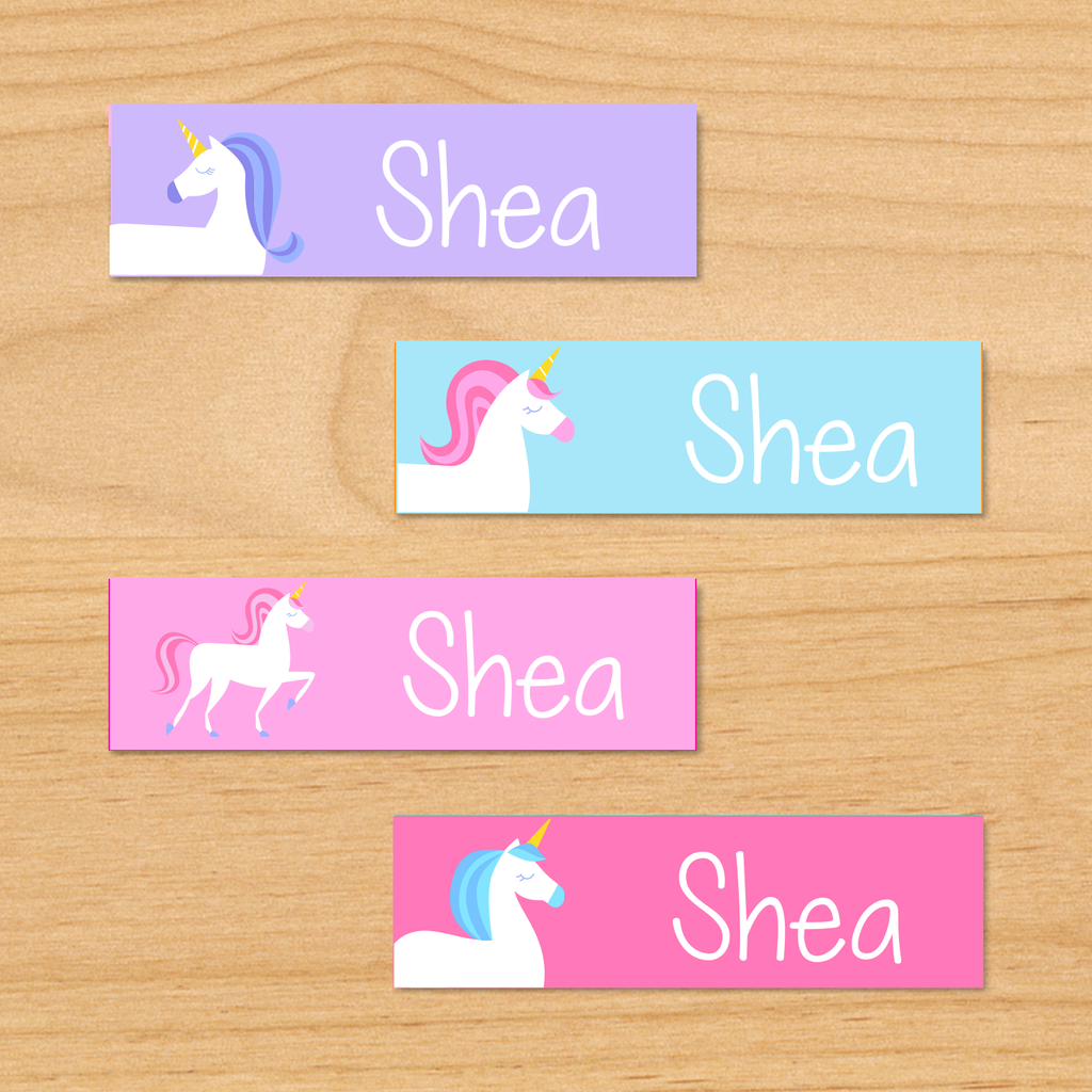 Unicorn Mini Waterproof labels