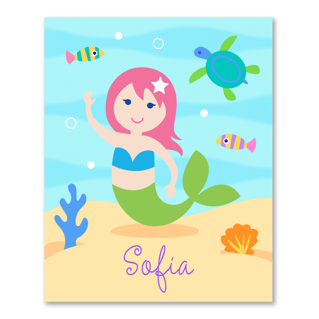 Mermaids Personalized Bookplates