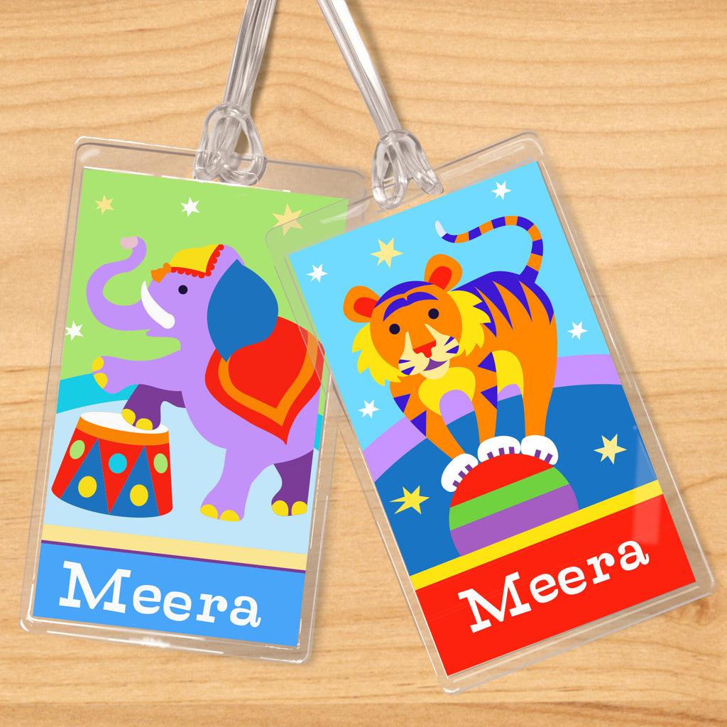 Big Top Personalized Kids Name Tag Set by Olive Kids