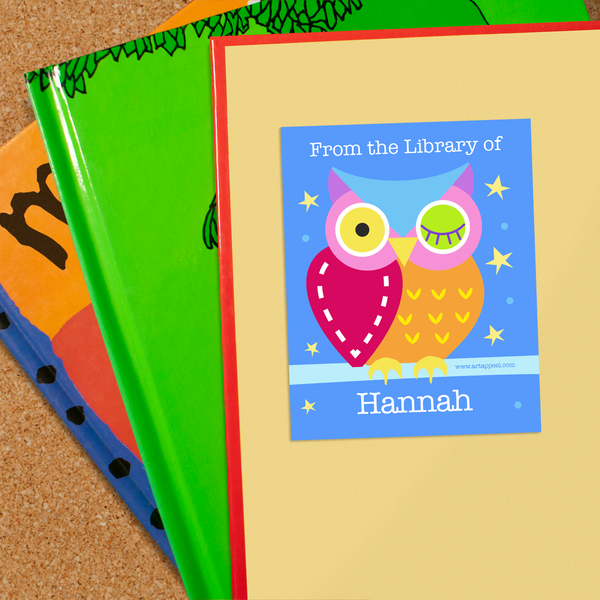 Owls Hoot Personalized Bookplates