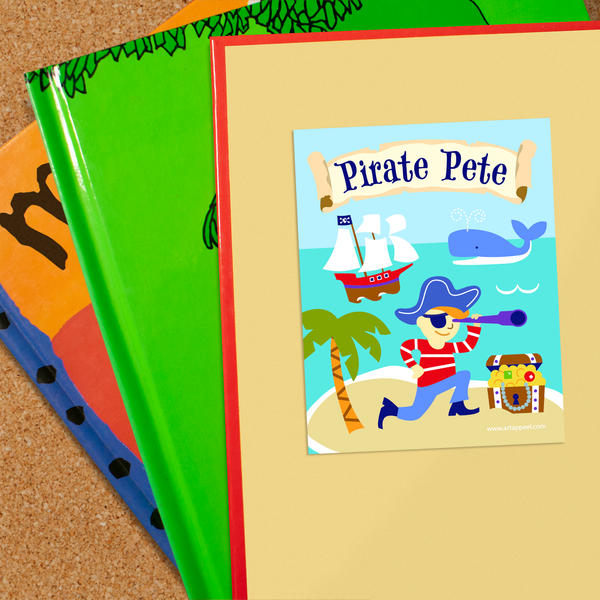 Pirates Personalized Bookplates