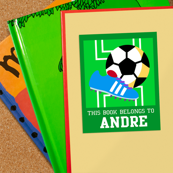 Soccer Personalized Bookplates
