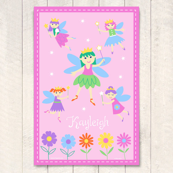 Fairy Princess Personalized Art Print