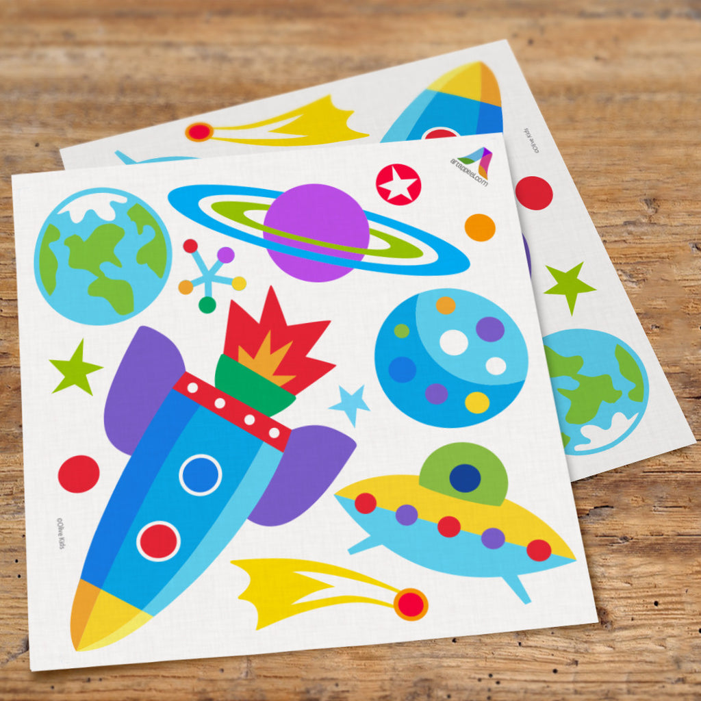 Out of This World Peel & Stick Wall Decal Cutouts by Olive Kids