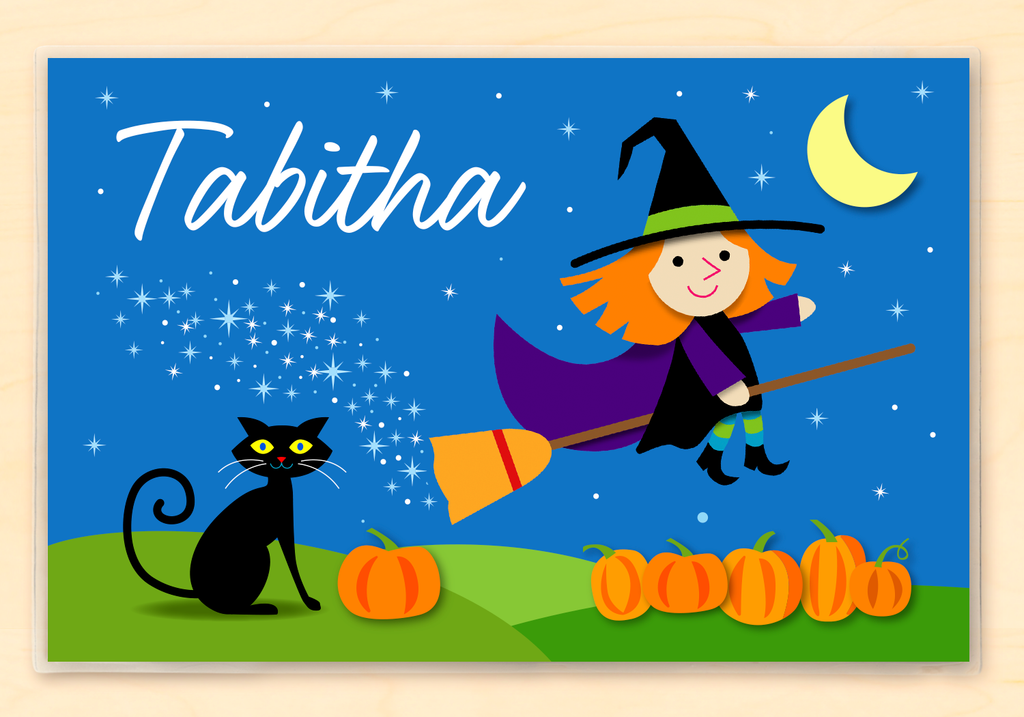 Wonderful Witch Personalized Placemat