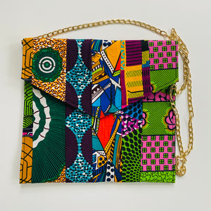Ankara Envelope Clutches