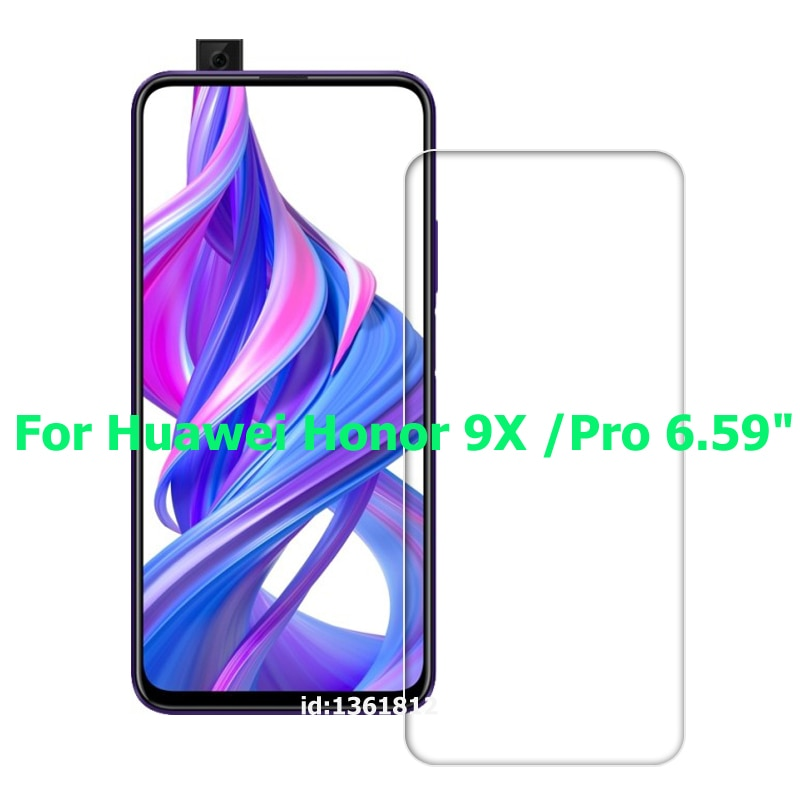 9H Tempered Glass for Huawei Honor 9X Pro 6.59