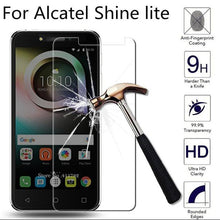 Load image into Gallery viewer, Tempered glass Alcatel Shine Lite 5080X Transparent Protective Film For Alcatel 5080X Glass Screen Protector Phone Film