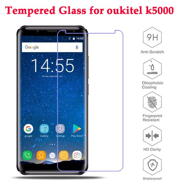 Oukitel K5000 Glass Screen Protector Guard Explosion Proof Front Tempered Glass Film For Oukitel K5000 Mobile Phone Glass 5.7