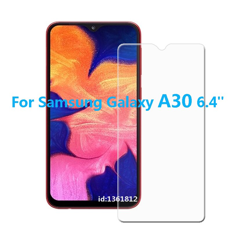 Glass For Samsung Galaxy A30 Tempered Glass Screen Protective Film For Samsung Galaxy A 30 Glass Screen Protector Smartphone