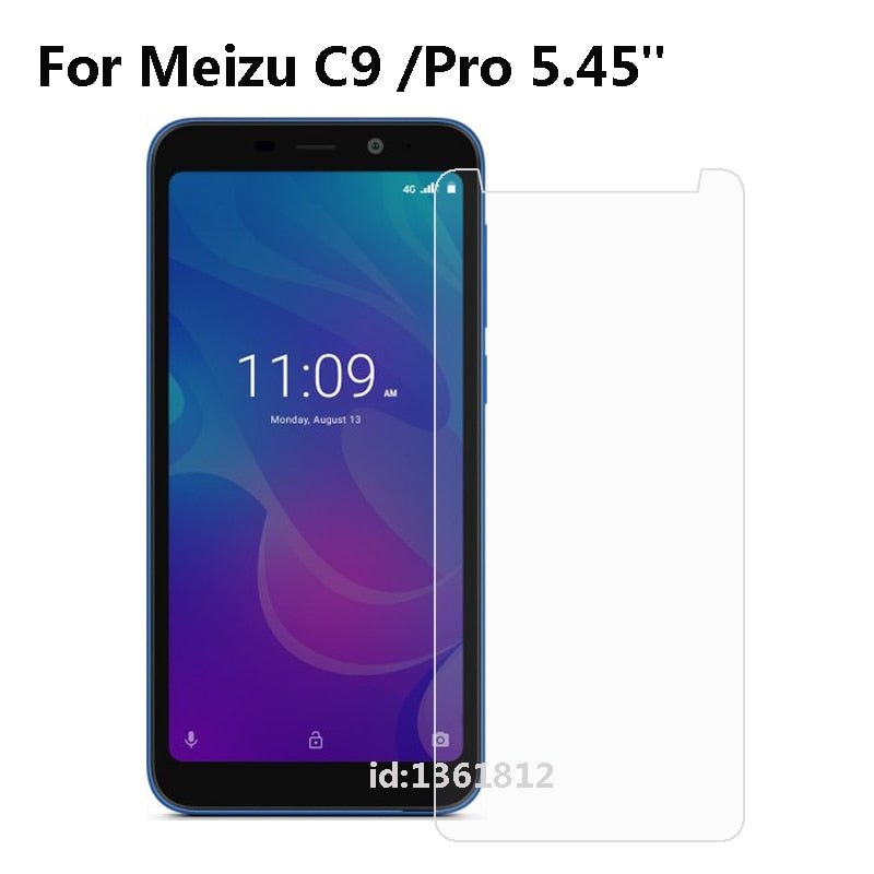 Meizu C9 Tempered Glass Steel Film Front Protective Replacemant Part For Meizu C9 Glass Screen Protector Mobile Phone Film