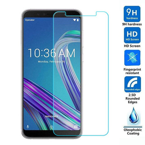 2.5D Tempered Glass For ASUS Zenfone MAX PRO (M1) ZB601KL Protective Film 9H Explosion-proof LCD Screen Protector For ZB601KL >