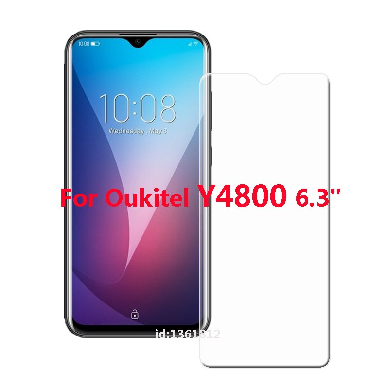Oukitel Y4800 Tempered Glass High Quality New Screen Protector Film For Oukitel Y 4800 Mobile Phone Protection Glass 5.7 inch