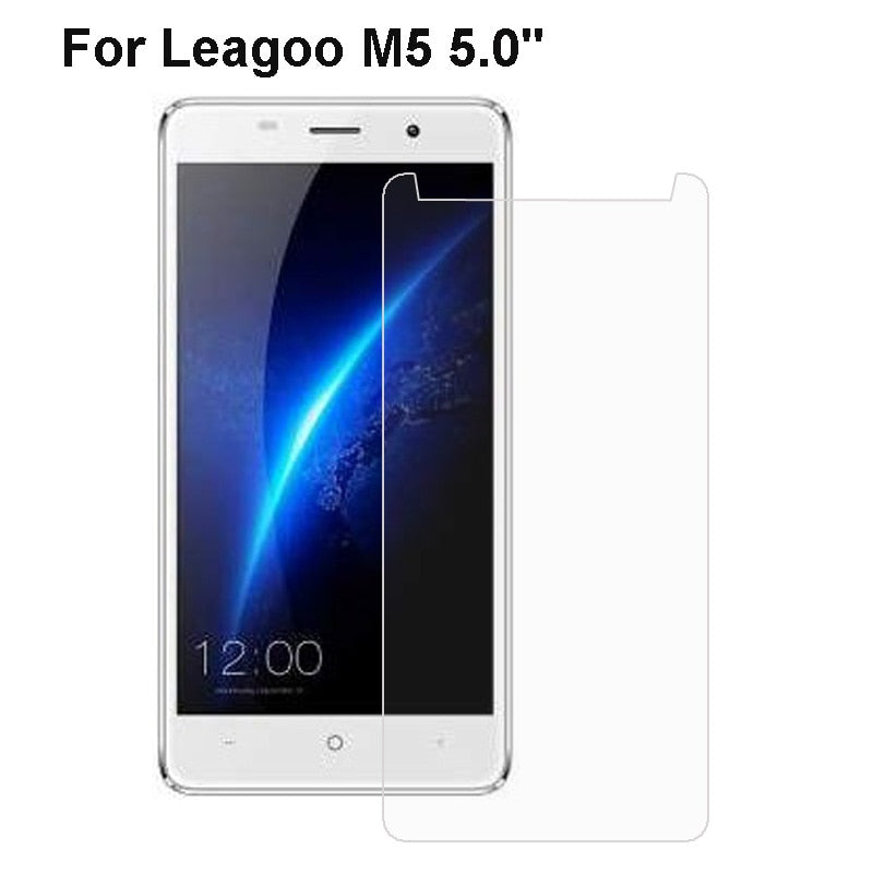Tempered Glass For Leagoo M5 Transparent Screen 9H 2.5D Mobile Telefon strike Protector Films For Leagoo M5 Glass